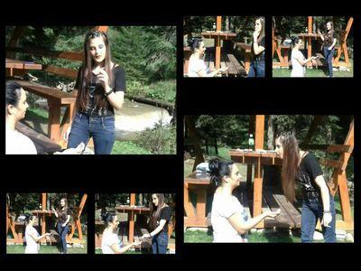 Laura Makes Melissa Her Human Ashtray