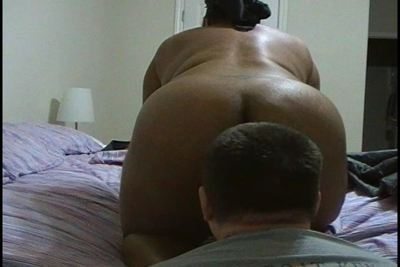 Ebony bbw ass licking