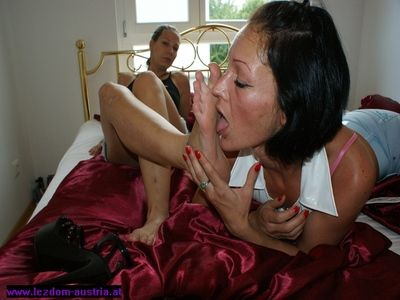 Lezdom Foot Worship 3