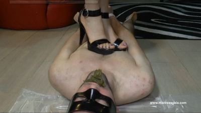 27230 - MISTRESS GAIA TRAMPLED AFTER SCAT