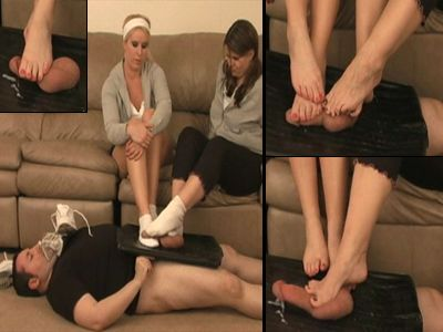 11263 - Massaging Their Tired Feet On A Loser